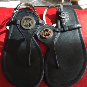 Michael Michael Kors Black Sandal